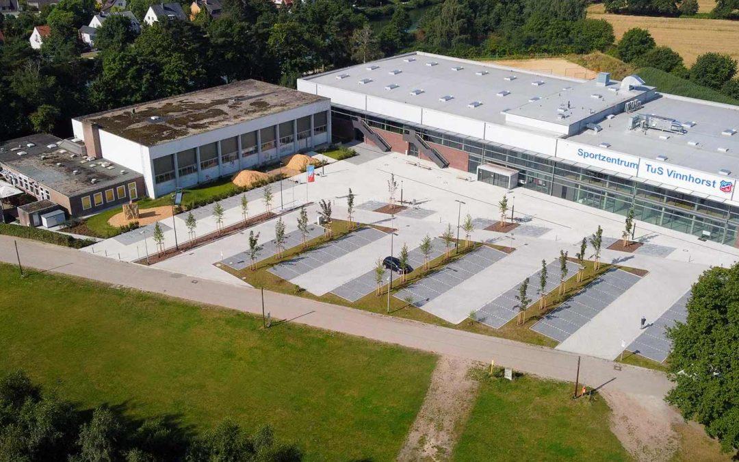 """Neues Sportzentrum schon """"bundesligareif"""""""